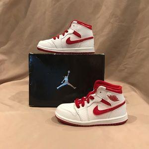 Jordan 1 Retro Hightop Sneakers Kids 10C